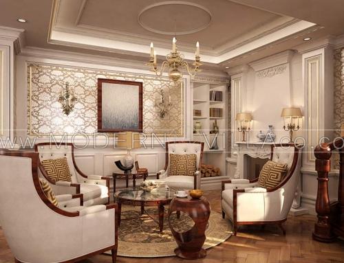 طراحی و ساخت ویلا کلاسیک