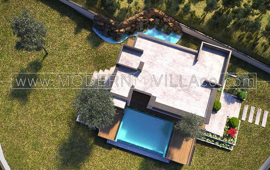 طراحی ویلا در رویان-روستای لزیر