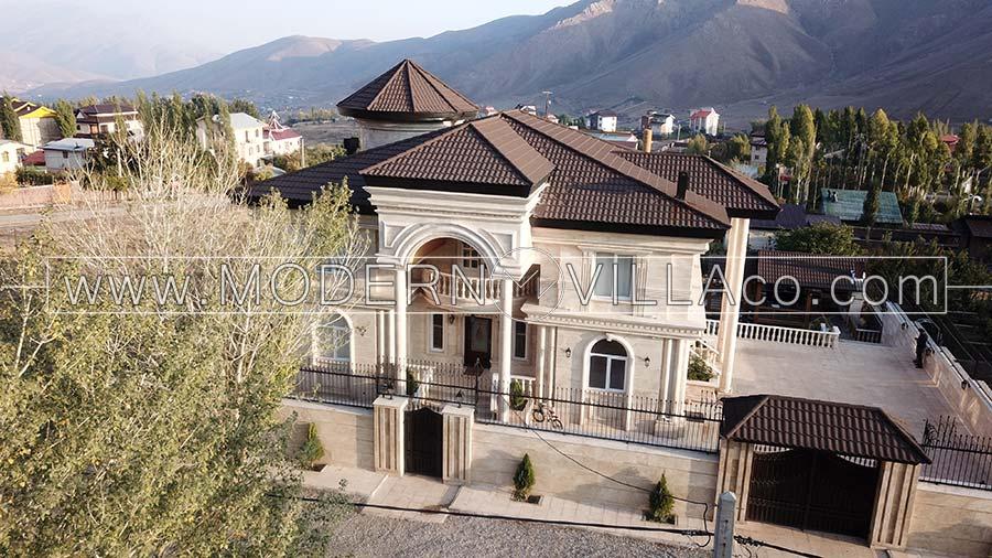 طراحی ویلای مشاء تهران