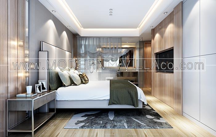 اتاق خواب در ویلا
