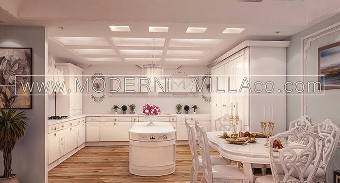 آشپزخانه در ویلا