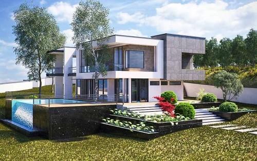 طراحی ویلای مدرن در رویان-روستای لزیر