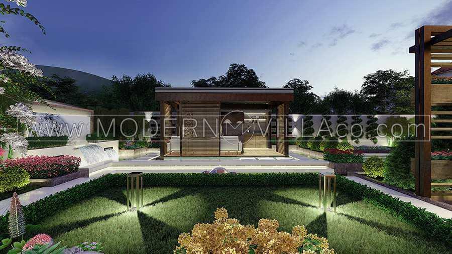 طراحی و اجرای باغ ویلا در رامسر