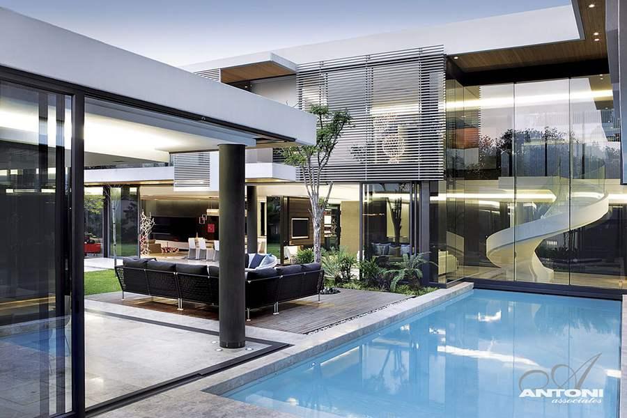 عمارتی مدرن در آفریقای جنوبی