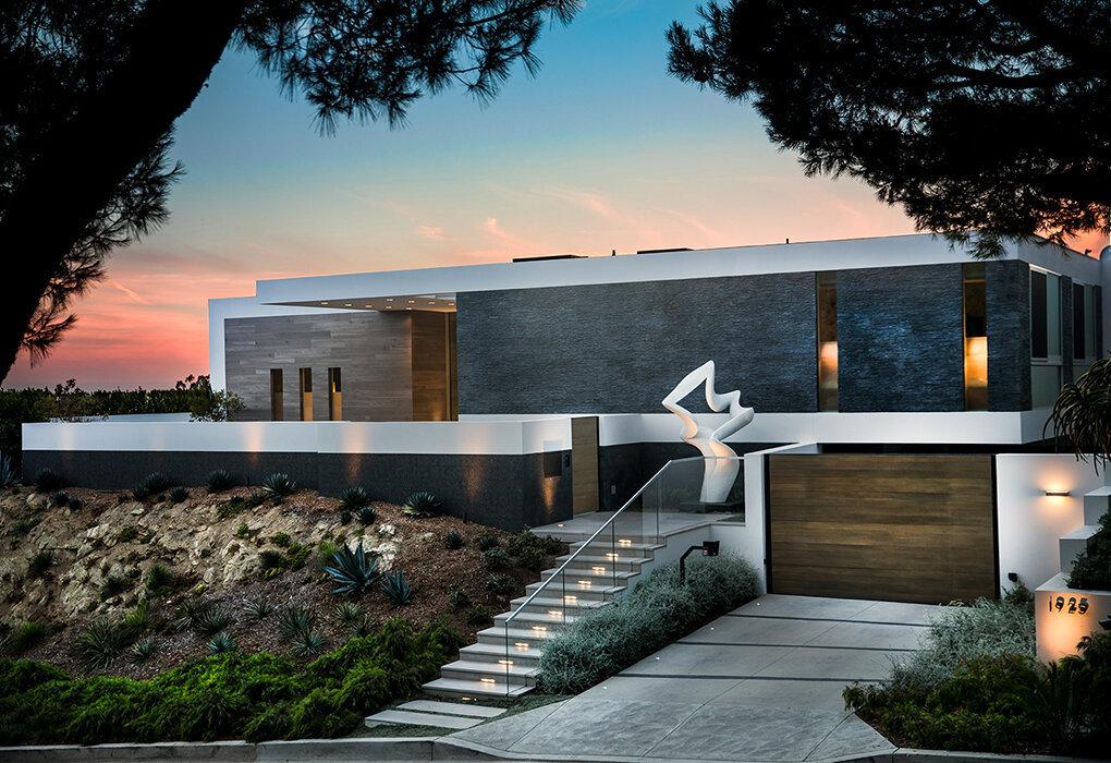 ویلای مدرن در بورلی هیلز، کالیفرنیا