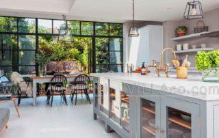 طراحی داخلی آشپزخانه ویلا
