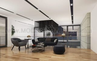 طراحی داخلی ویلا مدرن