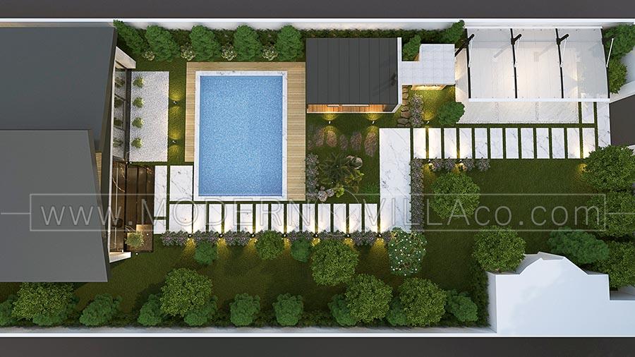 طراحی ویلا فلت در تهراندشت