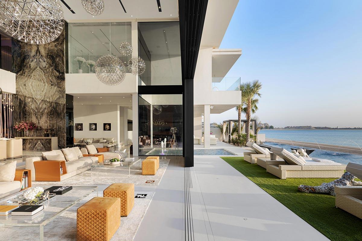 ویلای لوکس و مدرن در دبی