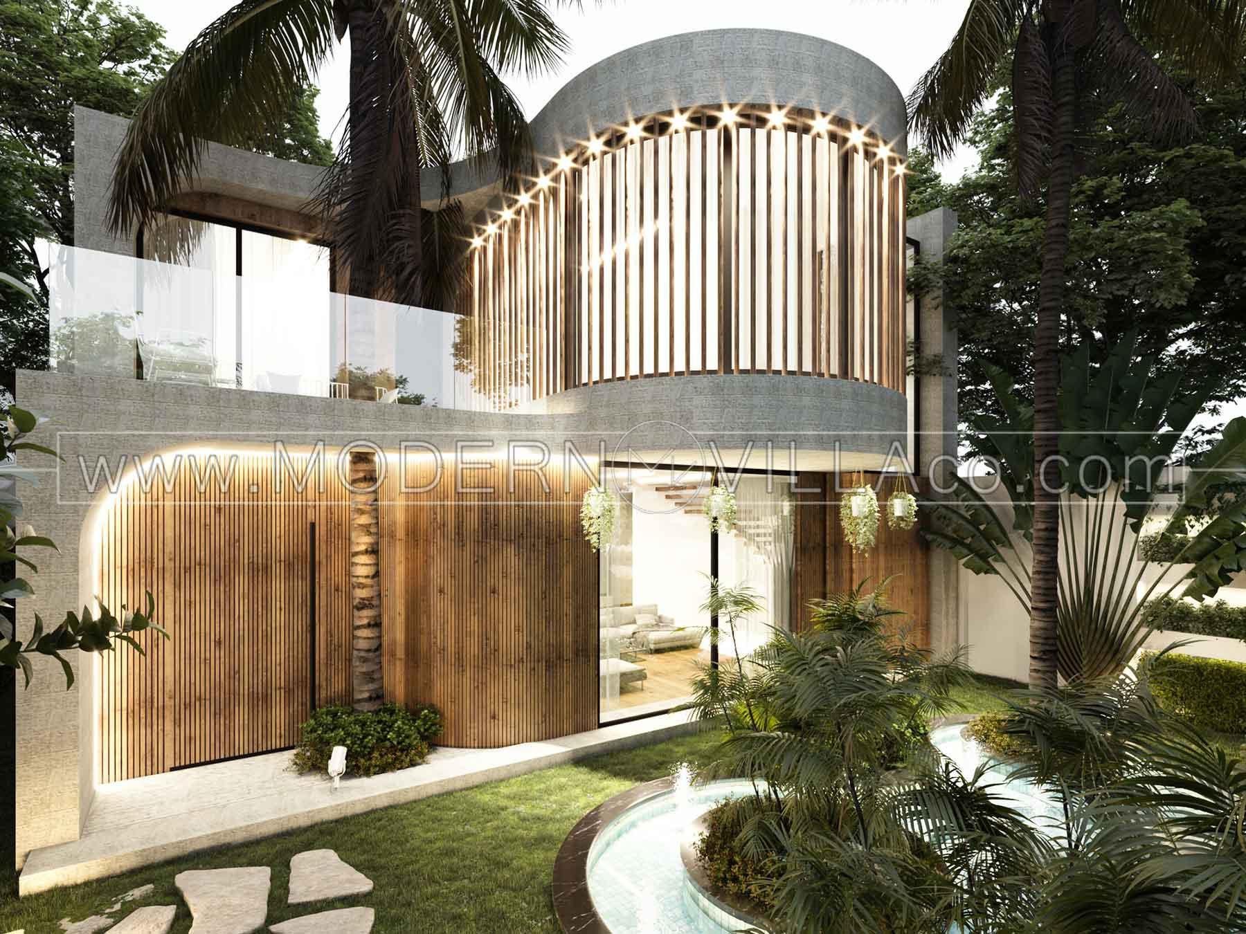 طراحی ویلای مدرن در شهریار