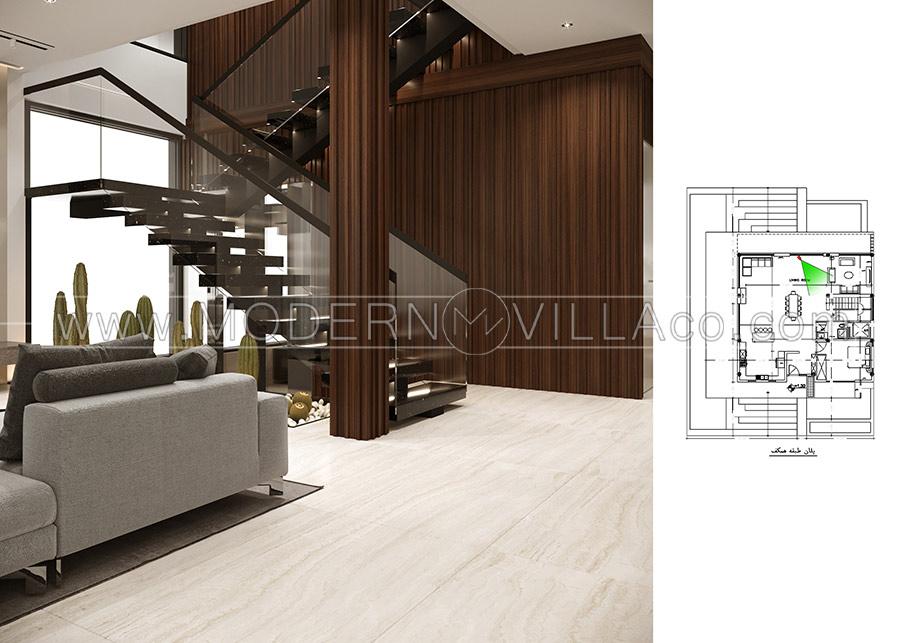طراحی ویلا در لاهیجان