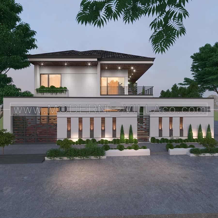 طراحی ویلا در محمودآباد مازندران