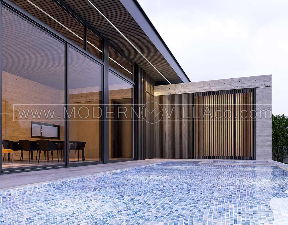 پروژه طراحی ویلا در سهیلیه کرج