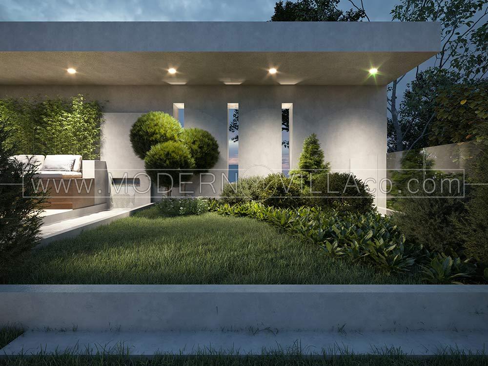 پروژه طراحی ویلای مدرن دوبلکس در شهریار