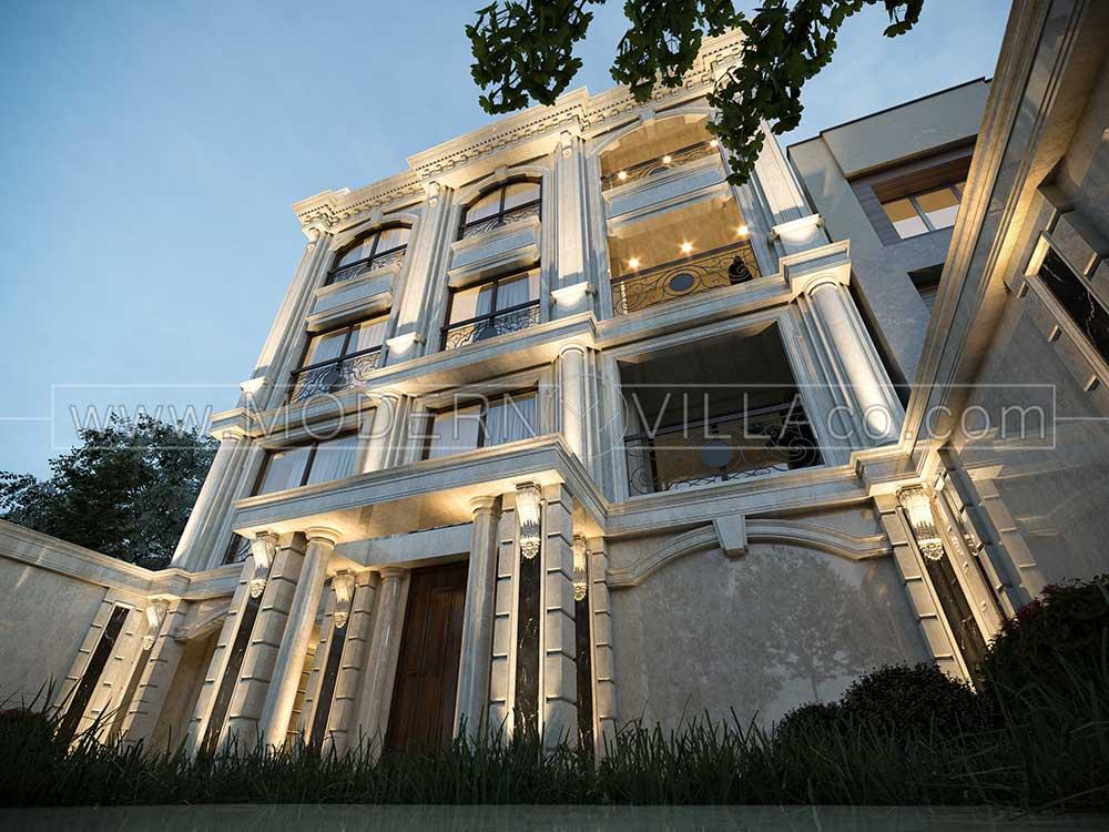 طراحی داخلی و نما در تهران
