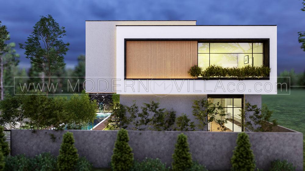 پروژه طراحی ویلا در چناران کرج