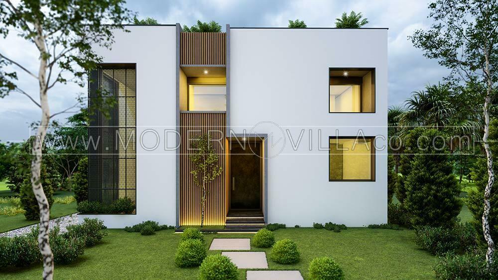 پروژه طراحی ویلای مدرن در نمک آبرود