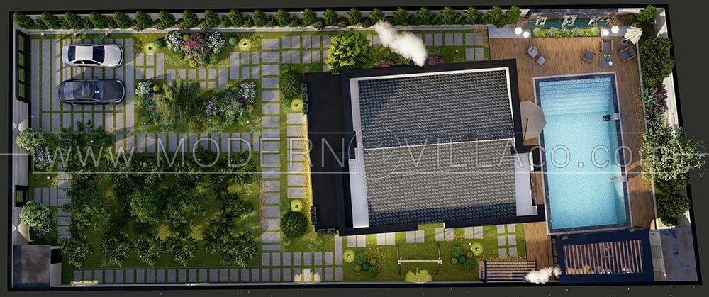 پروژه طراحی ویلا در نمک آبرود