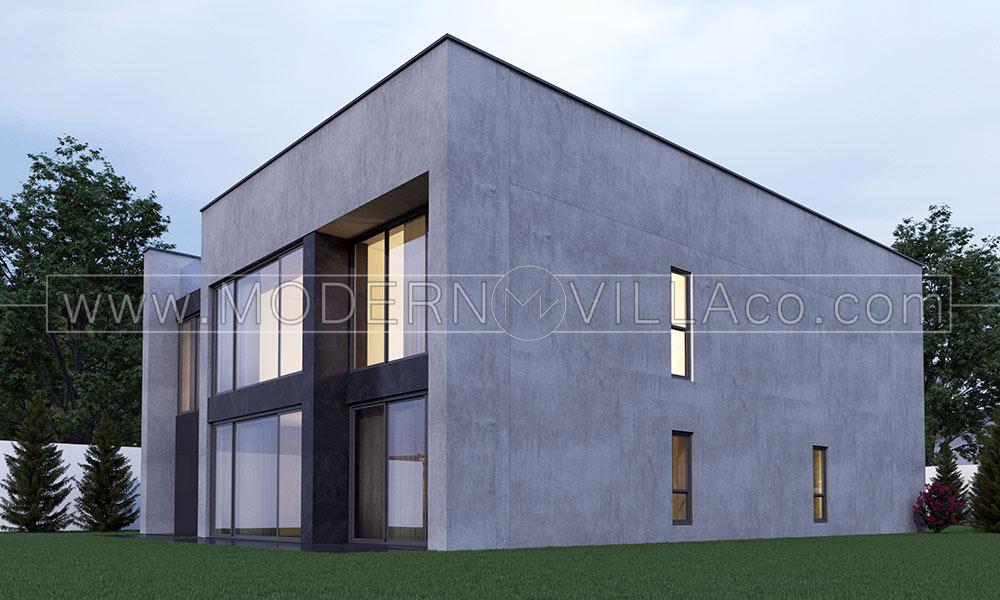 پروژه طراحی ویلا مدرن در شهریار کرج