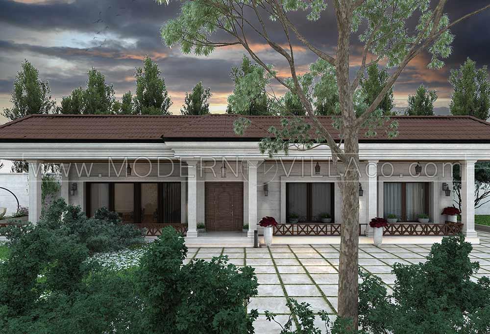 پروژه طراحی ویلا در شهریار