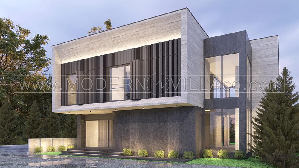 پروژه طراحی ویلا در جابان دماوند