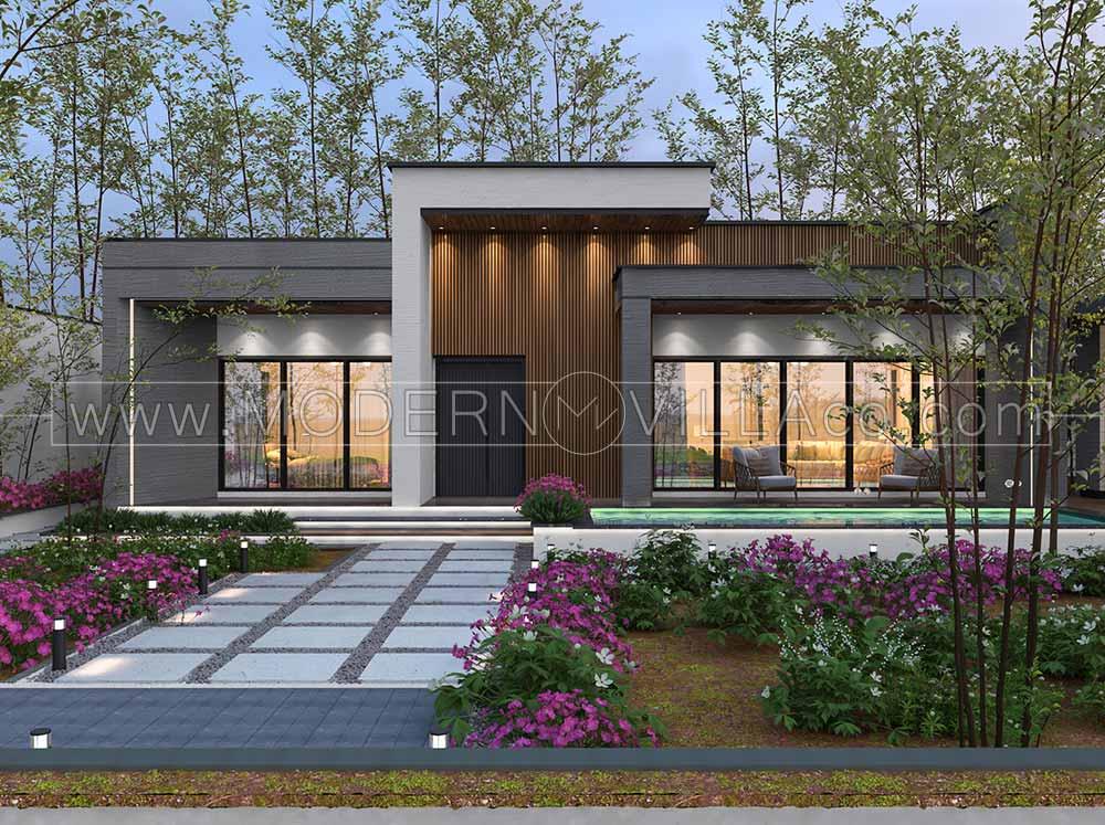 پروژه طراحی ویلای مدرن در چهارباغ کرج