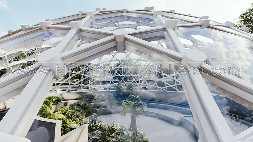پروژه محوطه سازی ویلا در باغشهر آرین