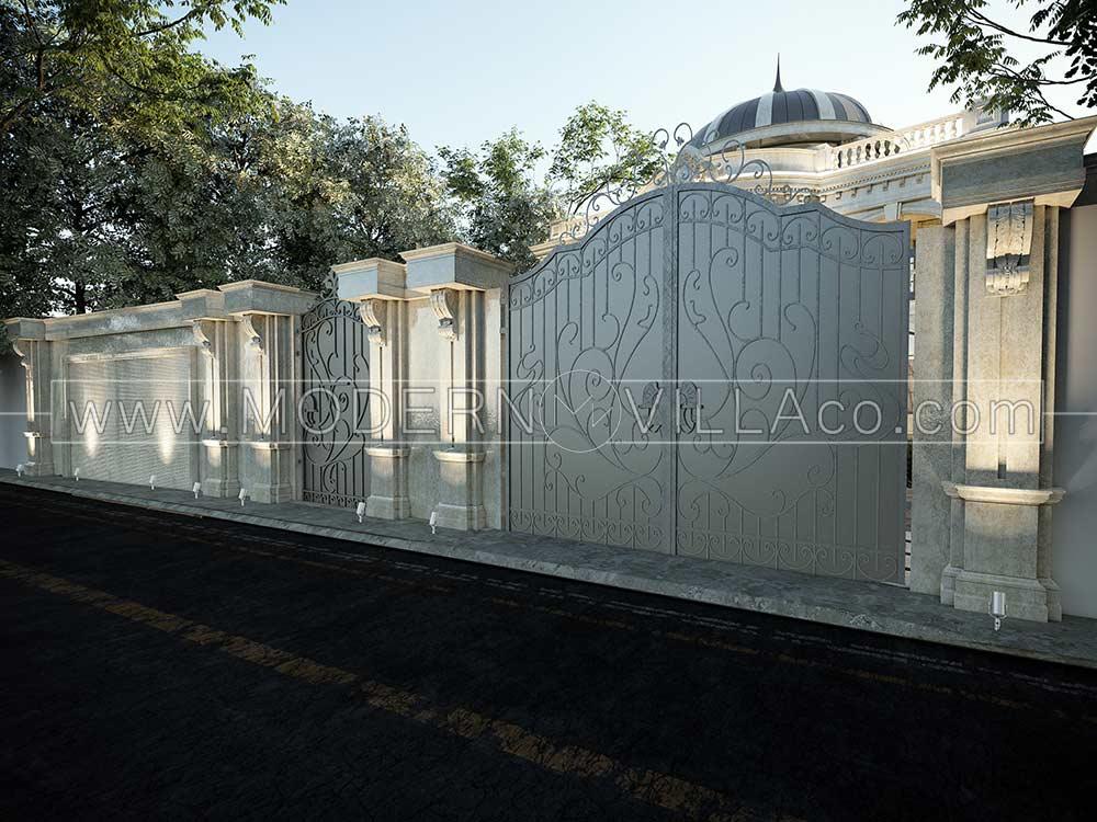 پروژه طراحی ویلا در ماهدشت کرج