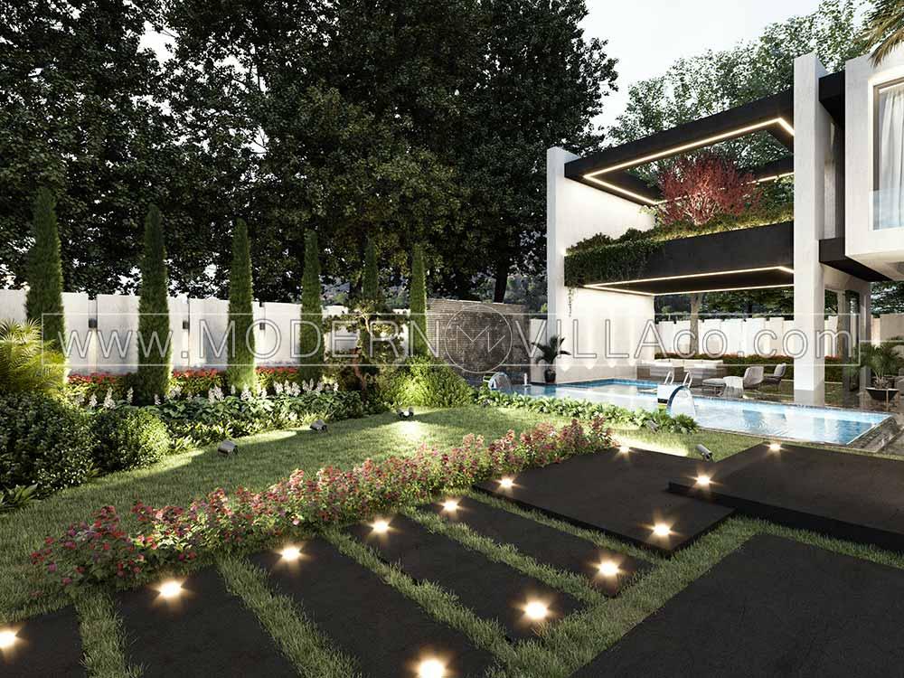 پروژه ویلای مدرن در سرخاب ساوجبلاغ