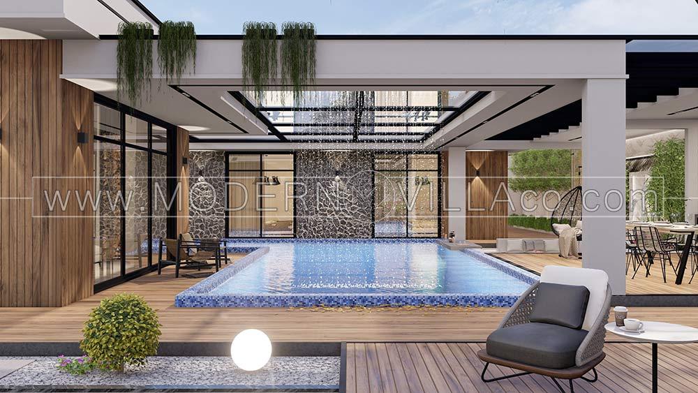 پروژه محوطه سازی و طراحی نما در تهراندشت