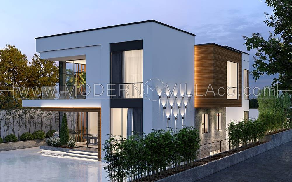 پروژه طراحی ویلا مدرن در تهراندشت البرز