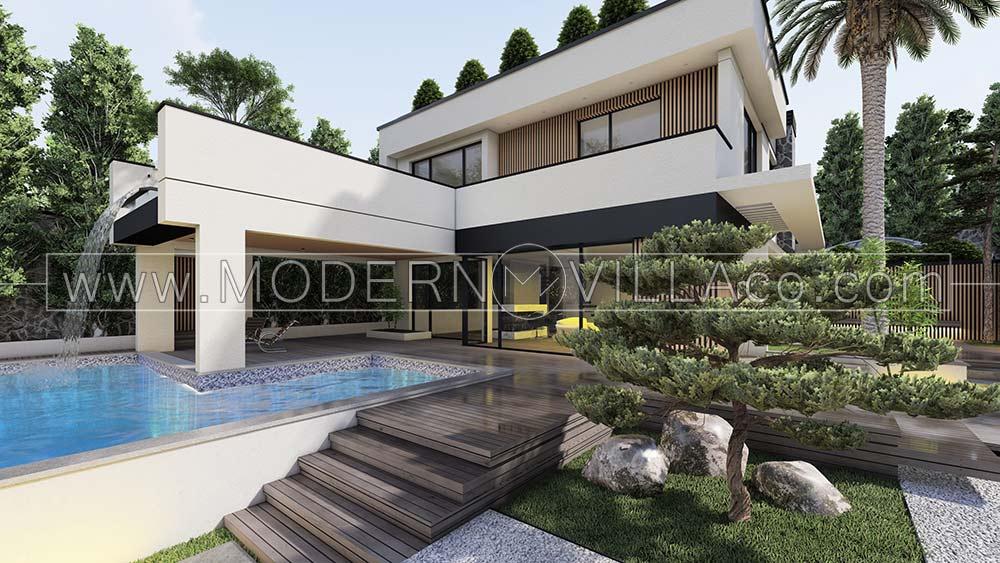پروژه ویلا مدرن در بیدآباد دماوند