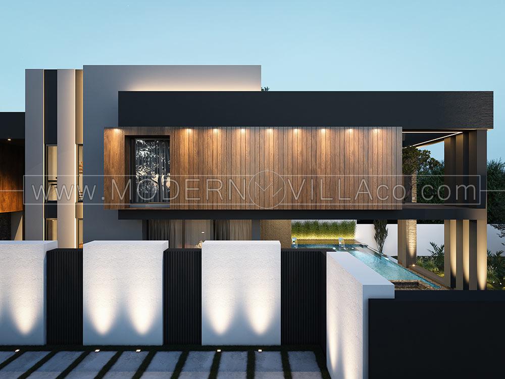 پروژه طراحی ویلا در دماوند